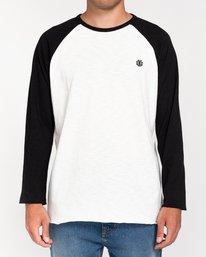 1 Blunt - Camiseta de Manga Larga para Hombre Negro W1LSB1ELP1 Element