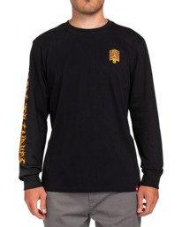 2 L'Amour Supreme Spectral - Long Sleeve T-Shirt Black W1LSC8ELP1 Element