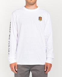 2 L'Amour Supreme Spectral - Long Sleeve T-Shirt White W1LSC8ELP1 Element