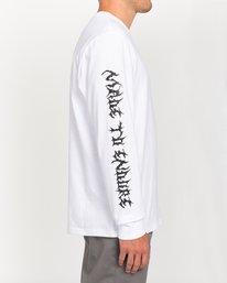 3 L'Amour Supreme Spectral - Long Sleeve T-Shirt White W1LSC8ELP1 Element