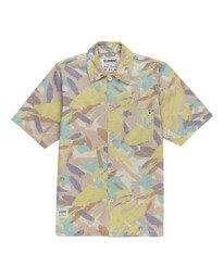 0 Nigel Cabourn Summer - Camisa de manga corta Camo W1SHD1ELP1 Element