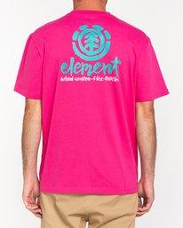 3 Henke - T-Shirt for Men Red W1SSH6ELP1 Element