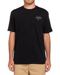 0 Peanuts Slide - T-Shirt for Men Black W1SSO3ELP1 Element