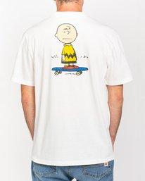 3 Peanuts Kruzer - T-Shirt for Men White W1SSO9ELP1 Element