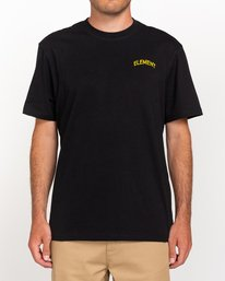 0 Peanuts Emerge - Camiseta para Hombre Negro W1SSP8ELP1 Element