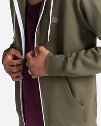 4 Cornell Classic - Sweat à capuche zippé pour Unisexe Vert W1ZHB4ELP1 Element