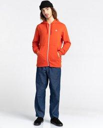 2 Cornell Classic - Sweat à capuche zippé pour Unisexe Rouge W1ZHB4ELP1 Element