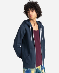 2 Cornell Classic - Zip-Up Hoodie for Unisex Blue W1ZHB4ELP1 Element