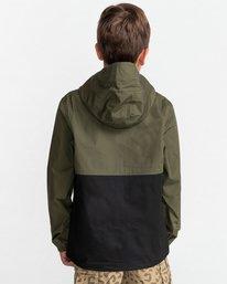 5 Wolfeboro Alder Light 2 Tones - Lightweight Water Resistant Jacket for Boys Black W2JKA6ELP1 Element