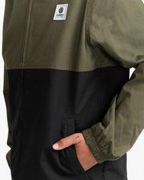 2 Wolfeboro Alder Light 2 Tones - Lightweight Water Resistant Jacket for Boys Black W2JKA6ELP1 Element