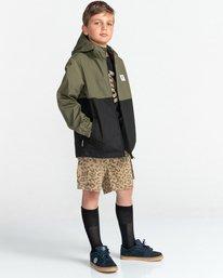3 Wolfeboro Alder Light 2 Tones - Lightweight Water Resistant Jacket for Boys Black W2JKA6ELP1 Element