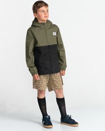 4 Wolfeboro Alder Light 2 Tones - Lightweight Water Resistant Jacket for Boys Black W2JKA6ELP1 Element