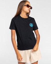 2 Balmore - Camiseta para Chicos Negro W2SSE4ELP1 Element