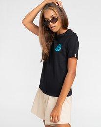 3 Balmore - Camiseta para Chicos Negro W2SSE4ELP1 Element