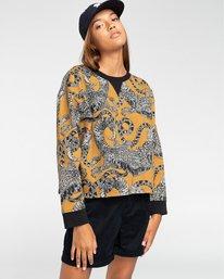 1 Uma - Sweatshirt für Frauen Gelb W3CRA2ELP1 Element