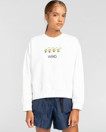 0 Peanuts Element - Sweatshirt für Frauen Weiss W3CRA3ELP1 Element