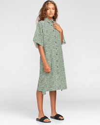 1 Tamlyn - Robe chemise oversize pour Femme Blanc W3DRB9ELP1 Element