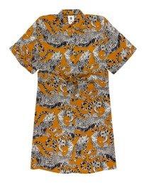 0 Tamlyn - Robe chemise oversize pour Femme Jaune W3DRC1ELP1 Element
