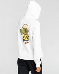 2 Peanuts Trekking - Kapuzenpulli für Frauen Weiss W3HOA2ELP1 Element