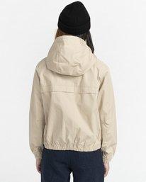 7 Wolfeboro Sashay Light - Water Resistant Jacket for Women Beige W3JKA3ELP1 Element