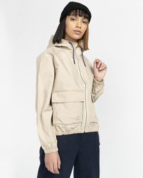 5 Wolfeboro Sashay Light - Water Resistant Jacket for Women Beige W3JKA3ELP1 Element