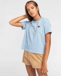 1 Paula - Camiseta para Mujer Azul W3KTB2ELP1 Element
