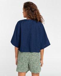 5 Salto Indigo - Camisa de manga corta para Mujer Violeta W3SHB4ELP1 Element