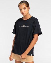 3 Peanuts Trekking - Camiseta para Mujer Negro W3SSB4ELP1 Element