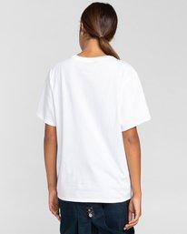 3 Element Logo - Camiseta para Mujer Blanco W3SSB7ELP1 Element