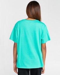 2 Element Logo - T-shirt pour Femme Bleu W3SSB7ELP1 Element
