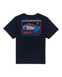 1 Walk About - Camiseta para Mujer Azul W3SSB9ELP1 Element