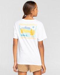 3 Walk About - Camiseta para Mujer Blanco W3SSB9ELP1 Element