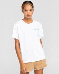 2 Walk About - Camiseta para Mujer Blanco W3SSB9ELP1 Element