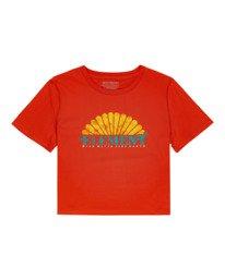 0 Debut Crop - Camiseta para Mujer Naranja W3SSC2ELP1 Element