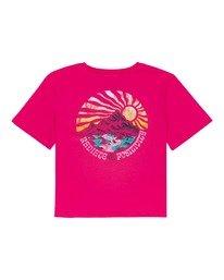 1 Positivity Crop - Camiseta para Mujer Rojo W3SSC4ELP1 Element