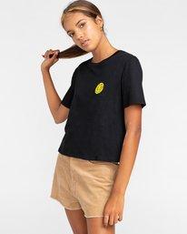 2 Timber! The Vision Crop - T-Shirt für Frauen Schwarz W3SSC8ELP1 Element