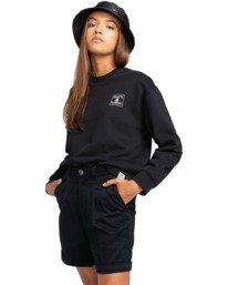 "3 Olsen 19"" - Short chino para Mujer Negro W3WKB2ELP1 Element"