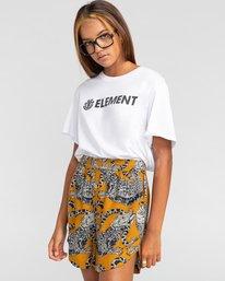 1 Week End - Short elástico para Mujer Amarillo W3WKB7ELP1 Element
