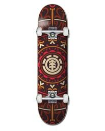"""0 8"""" Tecuala - Skateboard pour Unisexe Noir W4CPB1ELP1 Element"""