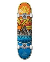 """0 8"""" Rise And Shine - Skateboard für Unisex Schwarz W4CPB7ELP1 Element"""