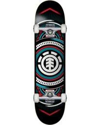 1 Hatched Blue 8.0 - Skateboard Black W4CPC4ELP1 Element