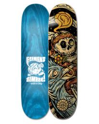 "1 8.25"" Timber High Dry Skull - Planche de skateboard pour Unisexe Noir W4DCB6ELP1 Element"