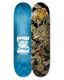 "0 8.38"" Timber High Dry Wolf - Skateboard Deck Black W4DCB8ELP1 Element"