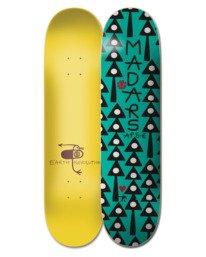 "0 8.38"" Earth Rev Madars - Skateboard Deck Black W4DCC1ELP1 Element"
