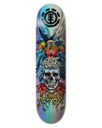 "0 8.25"" Lamour Skull - Skateboard Deck Black W4DCC4ELP1 Element"