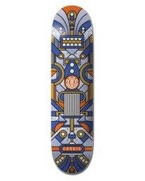 """0 8.4"""" Superbot Cookie - Skateboard Deck Black W4DCE3ELP1 Element"""
