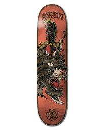 """0 8.25"""" Natural Defense Westgate - Planche de skateboard pour Unisexe Noir W4DCE7ELP1 Element"""