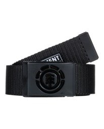1 Beyond Belt - Webbing Belt for Men Black W5BLB2ELPP Element