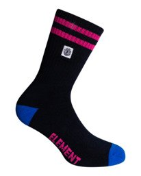 0 Future Nature Clearsight - Sportliche Skate-Socken für Männer Blau W5SOA4ELP1 Element