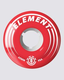 0 Filmer 62mm Wheels Red WHLG178A Element